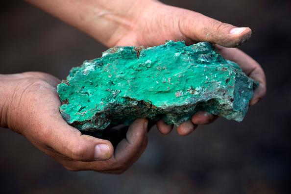 Copper mining in Congo, DRC