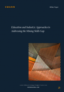 Mining education white paper cover