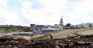 Image of a modern UK mine