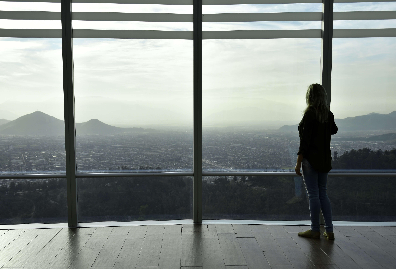 View of Sky Costanera, Santiago de Chile