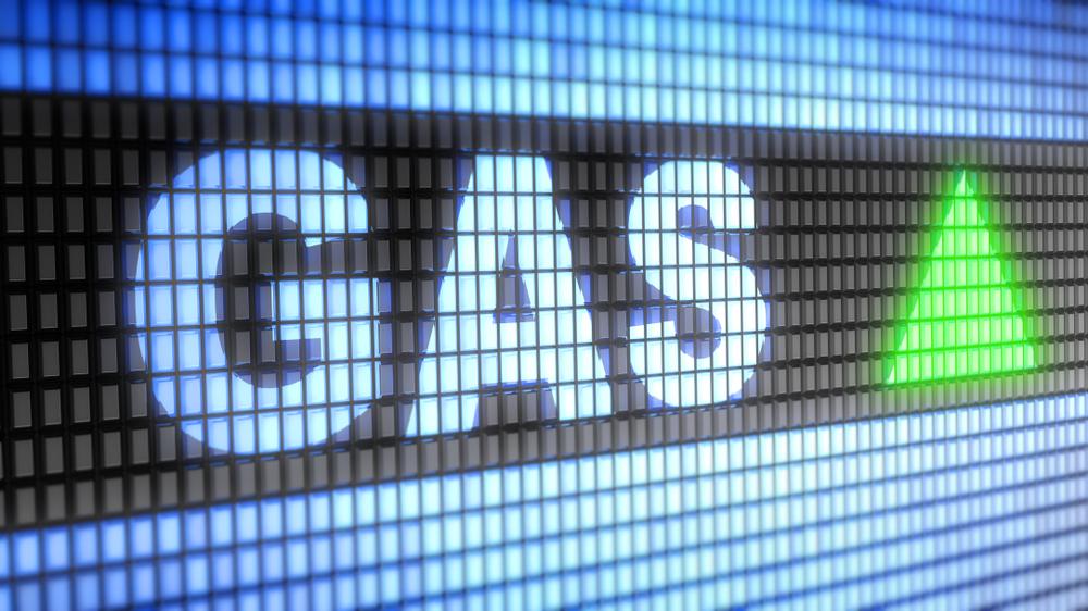 Gas Price Graphic
